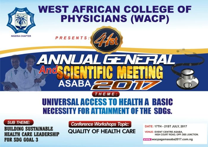 West African College of Physicians AGSM 2017